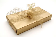 Einzelnes Geschenk Stockfoto