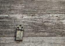 Einzelnes Grundthema des alten hölzernen Beschaffenheitsschwarzen Stockfotografie