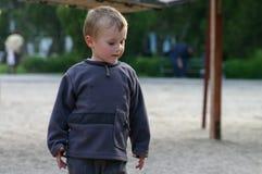 Einzelnes Kindportrait Stockbild
