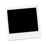 Einzelnes Polaroid Stockfotografie
