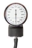 Einzelnes Schauzeichen für Retro- Sphygmomanometer stockbilder