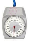 Einzelnes Schauzeichen für Retro- Sphygmomanometer stockfotografie