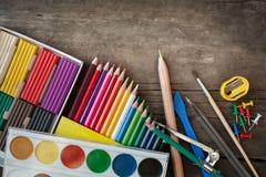 Einzelteile für die Kreativität der Kinder Lizenzfreie Stockfotos