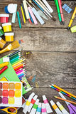 Einzelteile für die Kreativität der Kinder Stockfoto