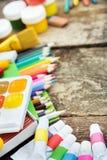 Einzelteile für die Kreativität der Kinder Stockfotos