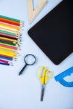 Einzelteile für die Schule Lizenzfreies Stockfoto