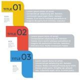 Einzelteilgeschäft infographics Schablone Lizenzfreie Stockbilder