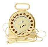 Einziehbare Telefon-Schnur Stockfoto