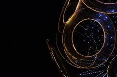 Einzigartige Designod Weihnachtsdekoration eines Baums Stockfotografie