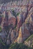 Einzigartige geologische Abnutzungsstruktur Lizenzfreie Stockfotografie