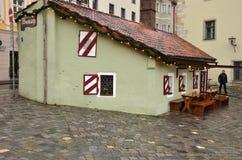 Einzigartige historische deutsche Architektur Lizenzfreie Stockfotos