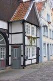 Einzigartige historische deutsche Architektur Stockbild