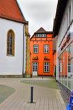 Einzigartige historische deutsche Architektur Stockbilder