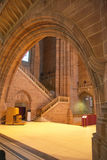 Einzigartige Kathedrale Liverpools Stockbild