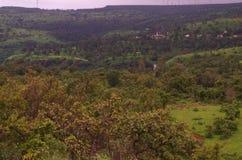 Einzigartige Konkan-Landschaft Stockfotografie