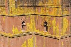 Einzigartige monolithische stein-gehauene Kirche von St George, UNESCO-Welterbe, Lalibela, Äthiopien Lizenzfreie Stockbilder