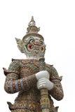 Thailändischer riesiger Tempelwächter lizenzfreie stockfotos