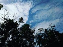 Einzigartiger Himmel Stockbild