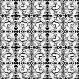 Einzigartiges, abstraktes Muster Stockbild