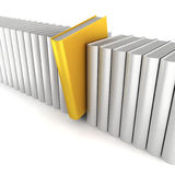Einzigartiges Buch stock abbildung