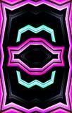 Einzigartiges colorfulbpattern Beschaffenheit des Pappmalereieffektes vektor abbildung