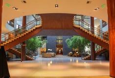 Einzigartiges doppeltes Treppenhaus Lizenzfreies Stockfoto