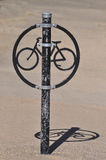 Einzigartiges Fahrradgestell Lizenzfreies Stockbild