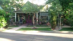 Einzigartiges Haus in Boulder Lizenzfreie Stockfotografie