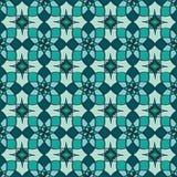 Einzigartiges Muster der nahtlosen geometrischen Blume vektor abbildung