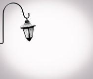 Einzige Lampe Stockfoto