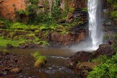 Einziger Nebenflusswasserfall Südafrika Lizenzfreie Stockfotos