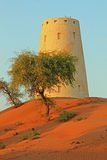 Einziges Fort in der Wüste Lizenzfreie Stockfotos