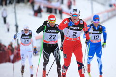 Eirik Brandsdal - ski sprint Royalty Free Stock Photos