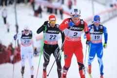 Eirik Brandsdal - skida sprintar Royaltyfria Foton