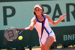 Eirini Georgatou (GRE) at Roland Garros 2011 Royalty Free Stock Images