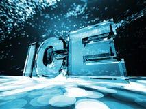 Eis stock abbildung