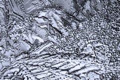 Eis als Stahl Stockfoto