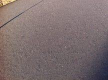 Eis auf dem Autodach Stockfoto