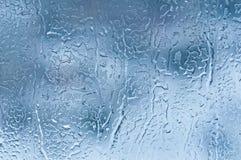 Eis auf Glas Stockbild