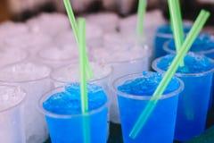 Eis auf Glas Lizenzfreie Stockfotos