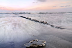 Eis auf Ostsee Stockfotografie