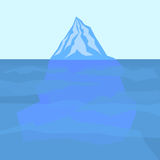 Eis Berg lizenzfreie abbildung