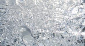 Eis-Beschaffenheit Stockfotografie