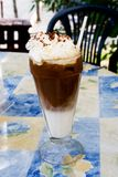 Eis-Cappuccino Lizenzfreie Stockfotos