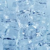 Eis cubics Stockfoto