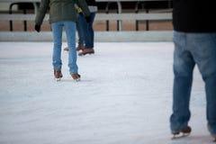 Eis-Eislauf Stockfotos