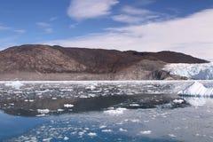 Eis-Gletscher Grönland Lizenzfreies Stockfoto