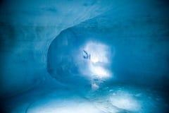 Eis-Höhle/Glacier See Lizenzfreie Stockbilder