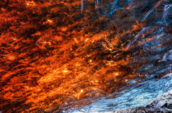 Eis-Höhle, Vatnajokull, Süd-Island Lizenzfreie Stockfotografie