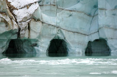 Eis-Höhlen Lizenzfreies Stockbild